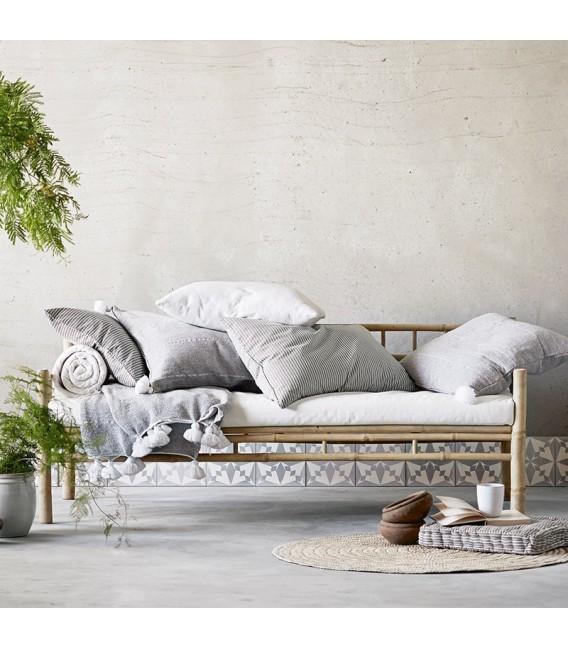 Sofá Bambú, gris