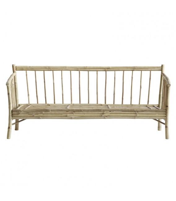 Sofá Lounge Bambú, gris