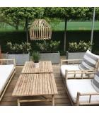 Butaca Bambú, blanco