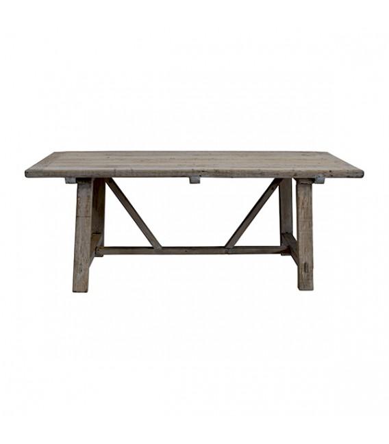 Mesa de Comedor de Madera Vintage