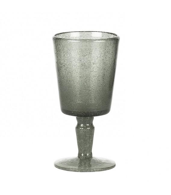 Copa Cristal Reciclado Gris